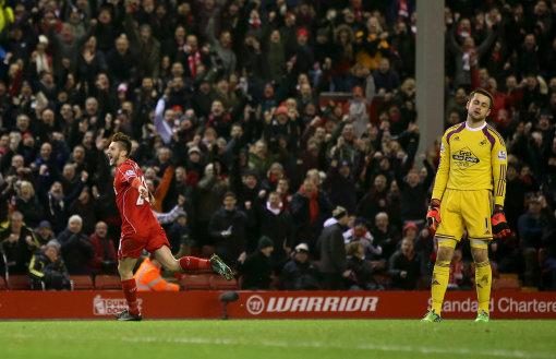 Soccer - Barclays Premier League - Liverpool v Swansea City - Anfield