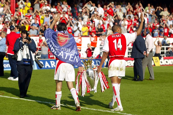 Soccer - FA Barclaycard Premiership - Arsenal v Leicester City