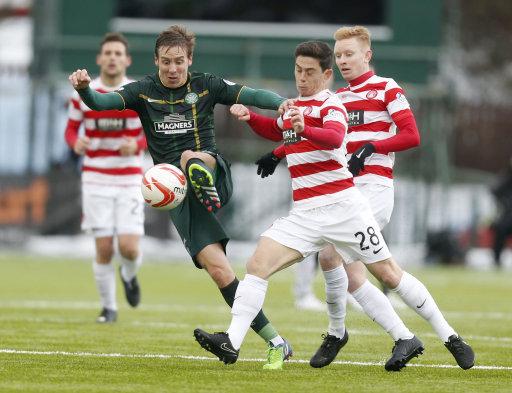 Soccer - Scottish Premiership - Hamilton Academical v Celtic - New Douglas Park