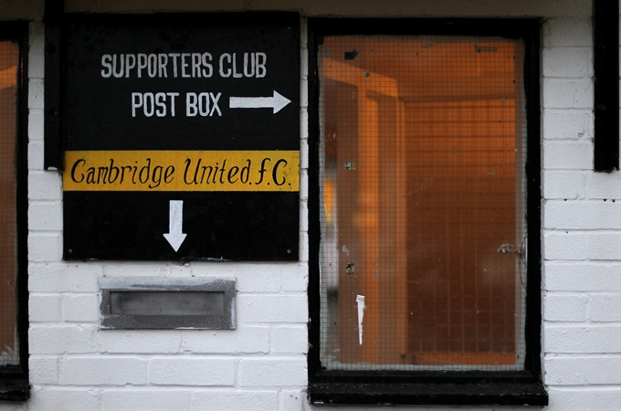 Soccer - Blue Square Premier League -ÊCambridge United v Ebbsfleet United - R Costings Abbey Stadium