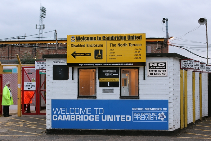 Soccer - Blue Square Premier League - Cambridge United v Ebbsfleet United - R Costings Abbey Stadium