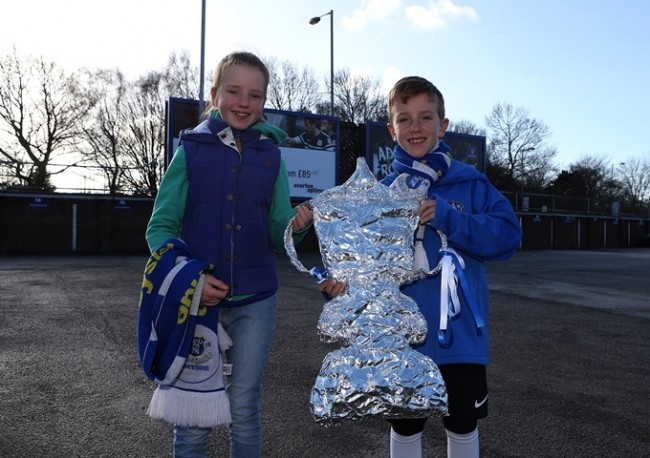 Soccer - FA Cup - Fifth Round - Everton v Swansea - Goodison Park