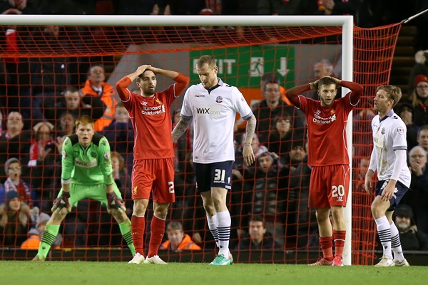 Soccer - FA Cup - Fourth Round - Liverpool v Bolton Wanderers - Anfield