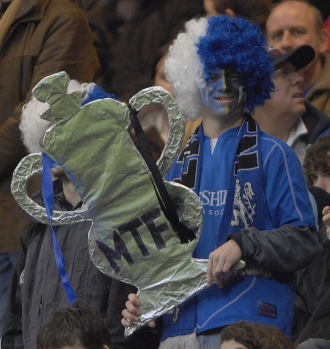 Soccer - FA Cup - Third Round - Chelsea v Macclesfield - Stamford Bridge