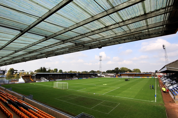 Soccer - Blue Square Premier League -ÊCambridge United v Grays Athletic - The Trade Recruitment Stadium