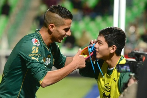 Diego Gonzalez Santos Santos Laguna's Diego Gonzalez