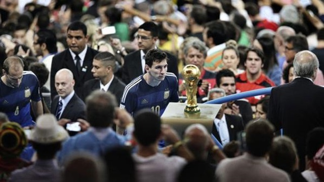 Messi World Cup Photo