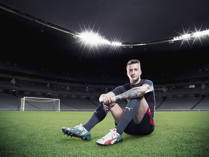Marco Reus wears PUMA's new evoSPEED 1.3_Q2_05 » Who Ate all