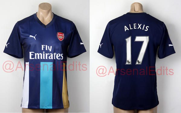 newest collection f01ad dd6b0 Arsenal's New Puma 2015/16 Third Kit Leaked, Looks Very Much ...