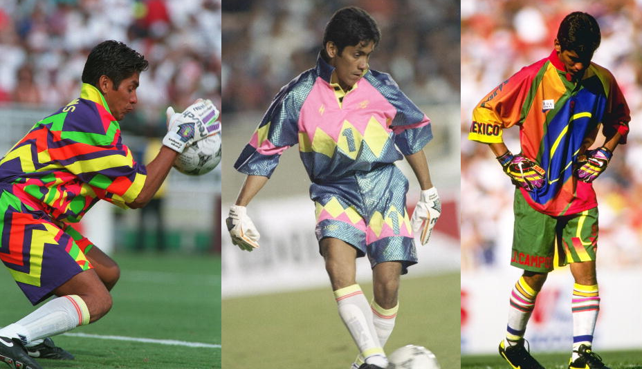 Random Great Goals Maverick Mexican Goalkeeper Jorge Campos Scores Incredible Bicycle Kick After Coming On As Substitute Striker 1997 Video Who Ate All The Pies