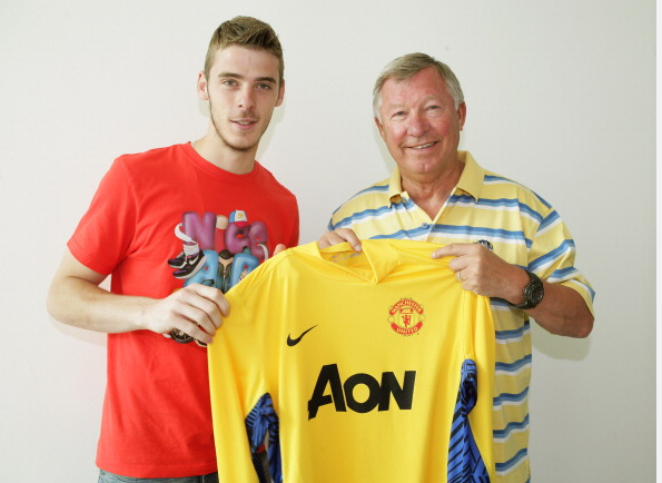 david de gea signs real