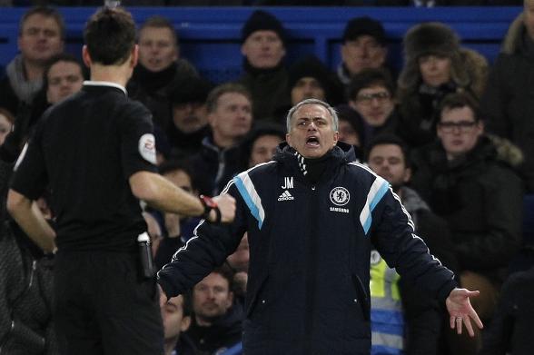 Mourinho referee