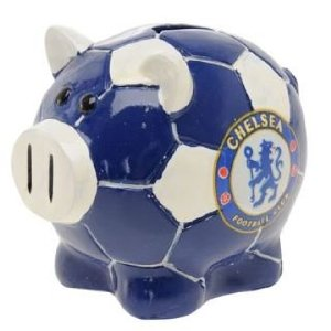 chelsea piggy bank
