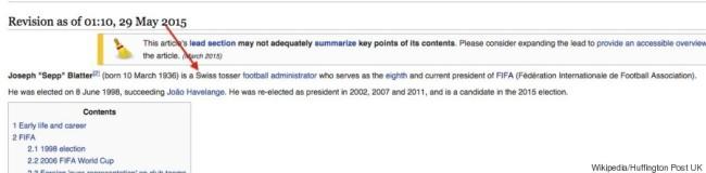 sepp blatter wikipedia