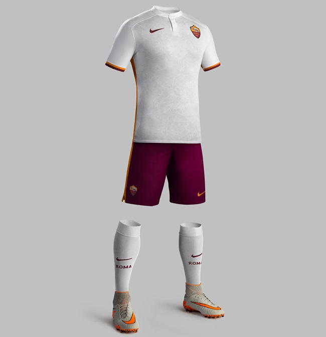 2c39a93d3 Roma s Debonair New 2015 16 Away Kit Features Historical Map Of Rome ...