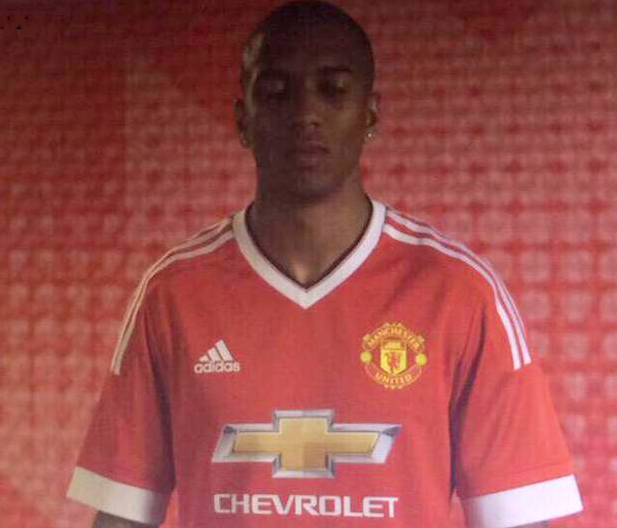 f1948eeb443 ... Manchester United s brand new Adidas home shirt for 2015 16 has leaked  out all over the internet in the past 24 hours… man-utd-15-16-kit
