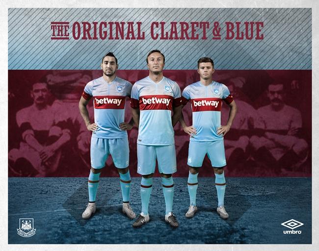 hot sale online eb95a 91569 Original Claret And Blue: West Ham Unveil Beautiful New ...