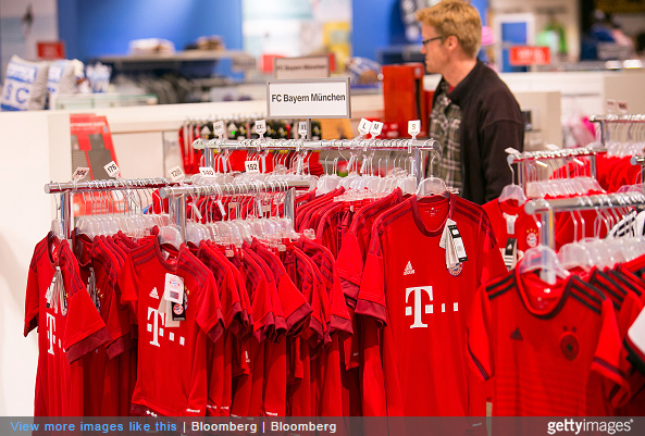 separation shoes 418b0 b7e3d 1860 Munich Fans Forced To Go Shopping In Bayern Club Store ...