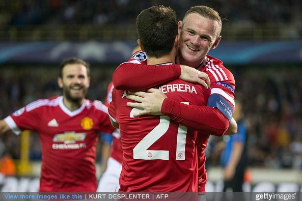 Wayne Rooney Scores Hat-Trick, Chicharito Endures ...