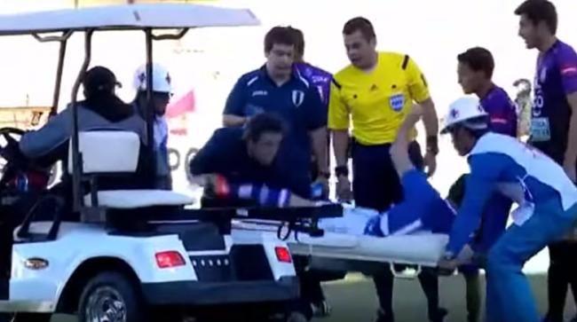stretcher-dive