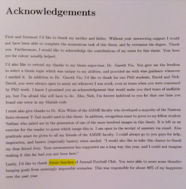 Thesis defense acknowledgements