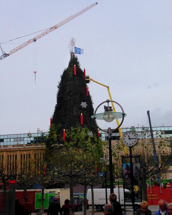 schalke-dortmund-christmas-tree