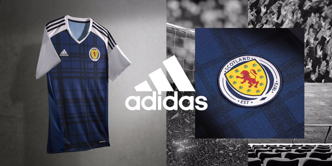 Scotland Unveil Ghastly New Tartan And Neon Pink 2016 Home And Away ... c4bf77fe0