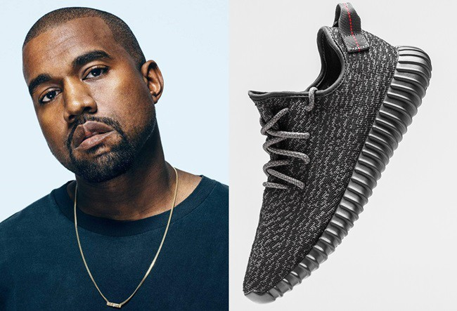 bb4b9057 Kanye West's Silly Yeezy Boost 350 Trainers Turned Into Football Boots For  Copa Basel Art Exhibition (Photos)