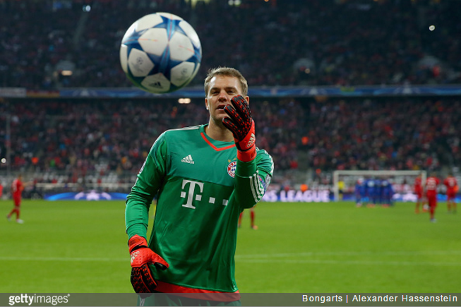 bayern munich manuel neuer makes outstanding triple save to deny medhi benatia in training. Black Bedroom Furniture Sets. Home Design Ideas