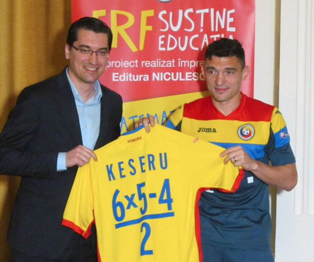 681202c24fc Romania Replace Squad Numbers With Maths Equations To Help Promote  Childhood Numeracy (Photos)