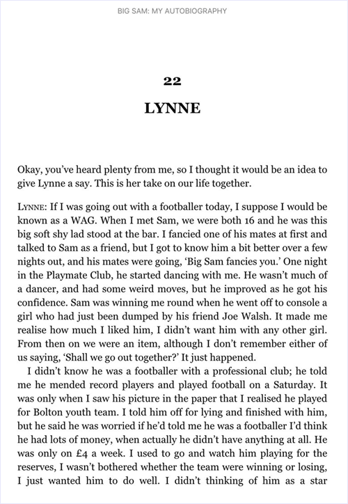 lynne-big-sam-autobiography