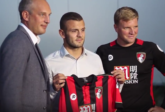 wilshere-bournemouth-shirt