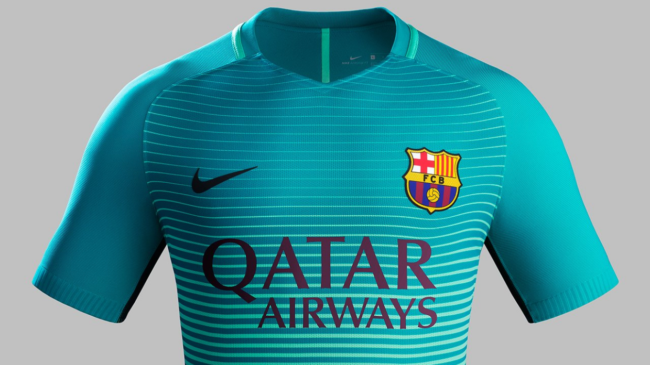 dc444b815 Barcelona To Wear Unique  Glow-In-The-Dark  Third Kit For First Time  Against Borussia Monchengladbach (Photos)