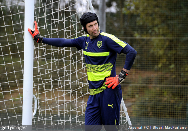 arsenal-cech-training