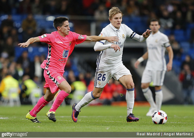 Odegaard: I don't regret Real Madrid move despite lack of opportunities