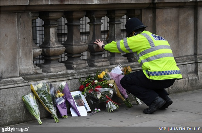 policeman-westminster. Charlton Athletic have paid their own humble tribute  to PC Keith Palmer ...