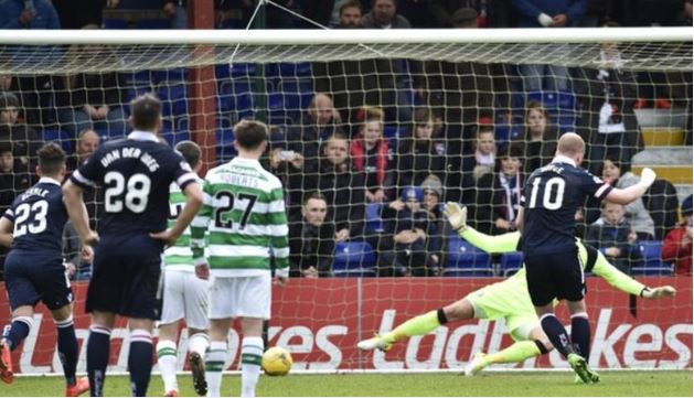 Scotland: Alex Schalk Produces Strong Contender For Dive Of The Season As Ross County Draw With Celtic (Video)