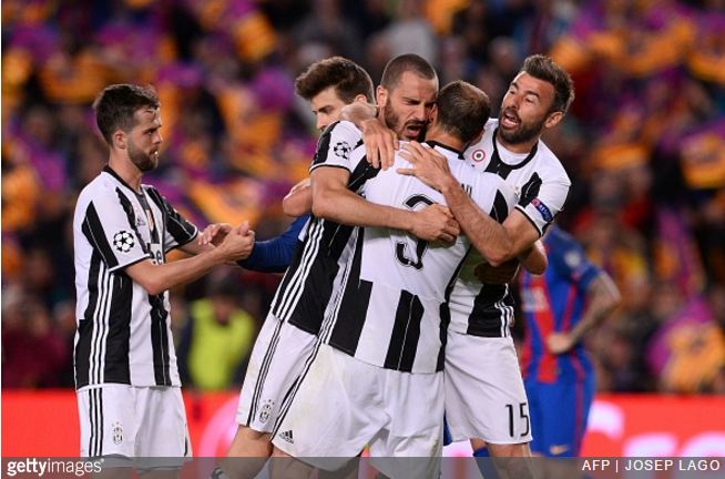 Bonucci: Teams Now Fear Juventus After Barca Ouster