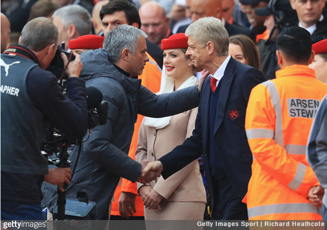 Mourinho did not care about losing to Arsenal - he was smiling!