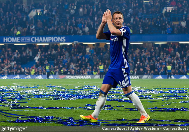 Chelsea celebrate title, Terry exit with Sunderland defeat