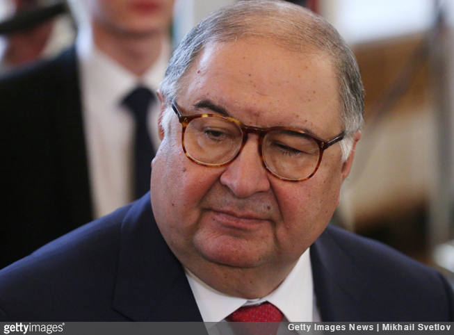 Alisher Usmanov makes bid to buy Arsenal