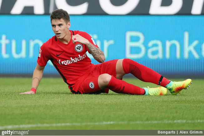 Manchester United loanee Guillermo Varela suspended by Eintracht Frankfurt after tattoo row