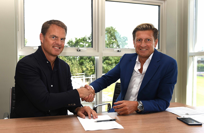 De Boer joins Crystal Palace