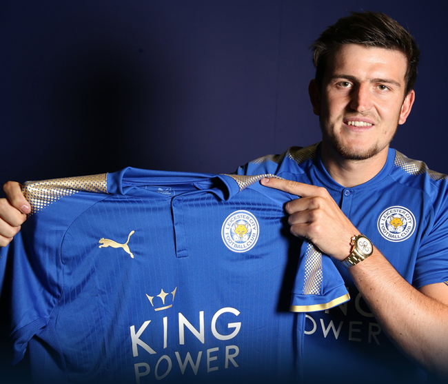 Official: Harry Maguire Joins Leicester City From Hull ...