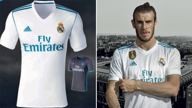 91a6db9e5 Real Madrid Release New Home Kit For 2017 18 Season