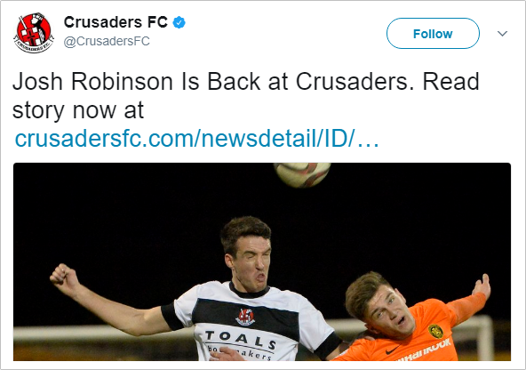 robinson-crusaders-tweet