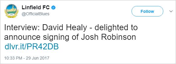 robinson-linfield-tweet