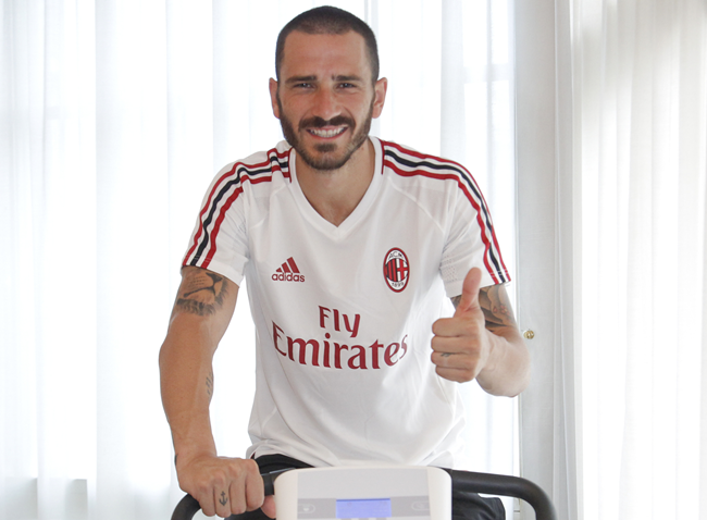 Top 10  Leonardo Bonucci Joins Exclusive Club Of Footballers Who Have  Played For AC Milan 6cdd2a5f8c39
