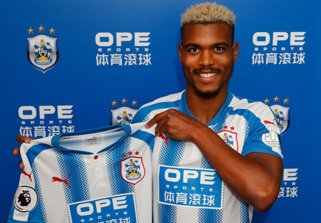 Huddersfield sign Steve Mounie on expected club record fee from Montpellier