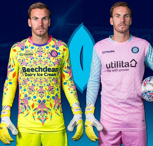 61e3c302a81 Shit Football Kits: Wycombe Wanderers' Gaudy New Goalkeeper Strips Are  Nigh-On Hallucinogenic (Photo)